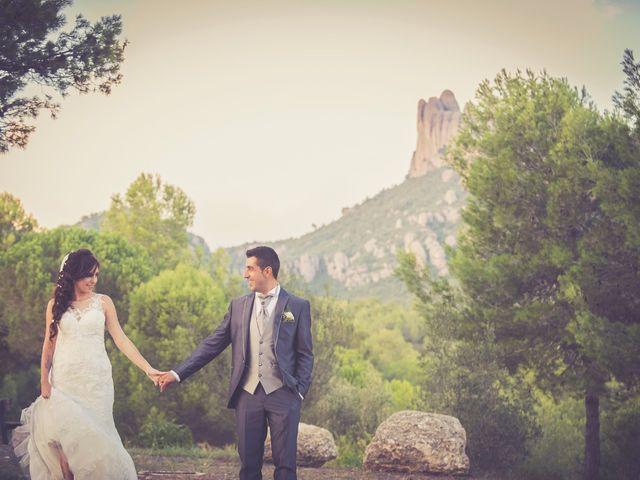 La boda de Sebas y Mónica en El Bruc, Barcelona 1