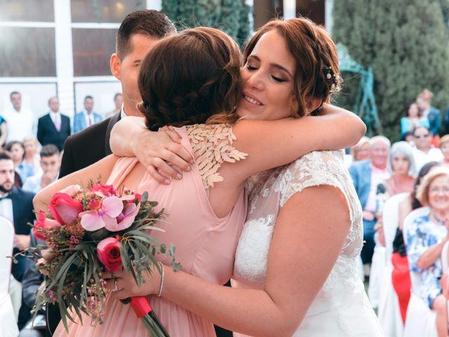 La boda de Andrés y Miriam en Carretera De Loeches (Alcala), Madrid 24