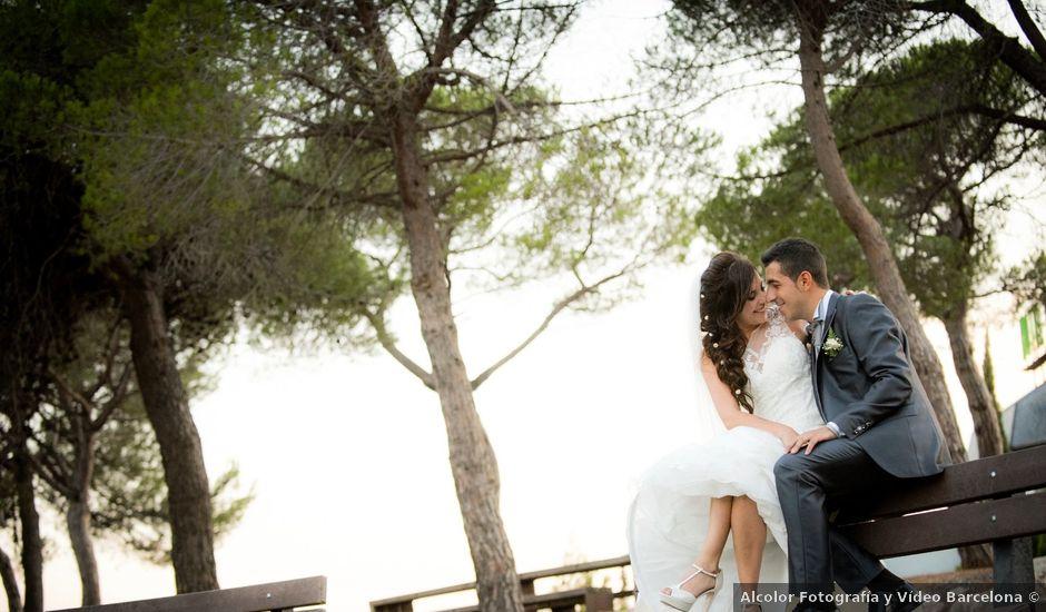 La boda de Sebas y Mónica en El Bruc, Barcelona