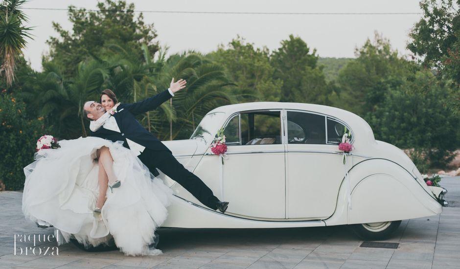 La boda de Rafael y  Natalia en Santa Maria (Isla De Ibiza), Islas Baleares