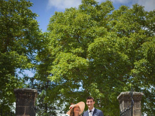 La boda de Mario y Eva en Santa Gadea Del Cid, Burgos 15