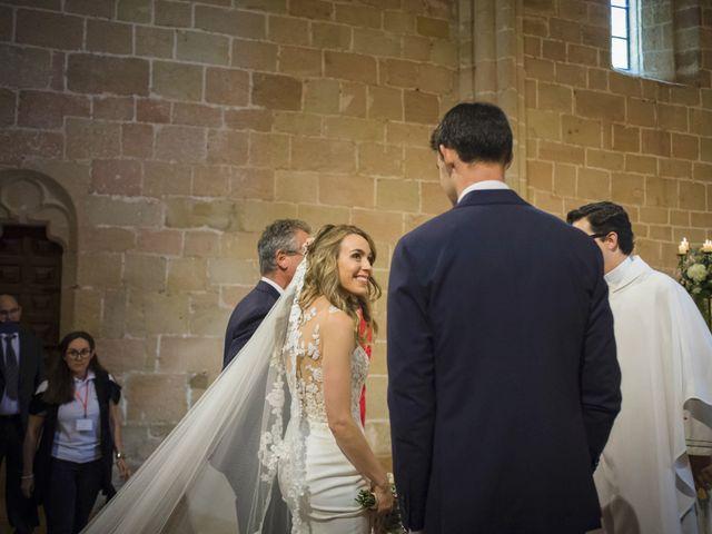 La boda de Mario y Eva en Santa Gadea Del Cid, Burgos 19