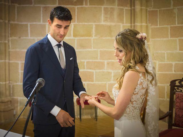 La boda de Mario y Eva en Santa Gadea Del Cid, Burgos 25