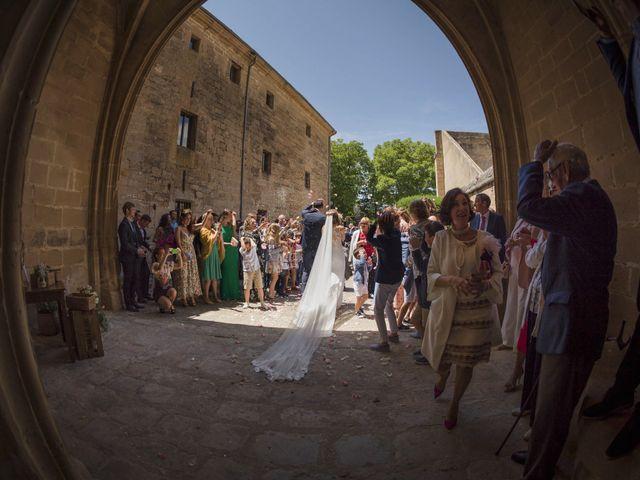 La boda de Mario y Eva en Santa Gadea Del Cid, Burgos 33