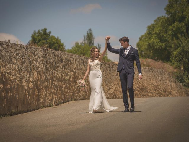 La boda de Mario y Eva en Santa Gadea Del Cid, Burgos 40