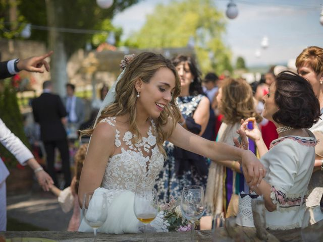 La boda de Mario y Eva en Santa Gadea Del Cid, Burgos 47