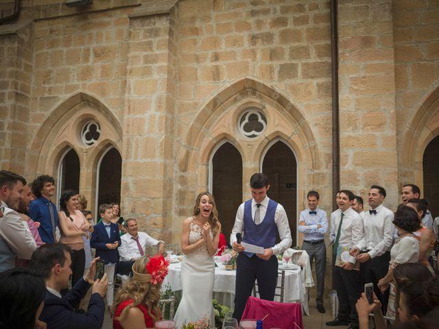 La boda de Mario y Eva en Santa Gadea Del Cid, Burgos 53