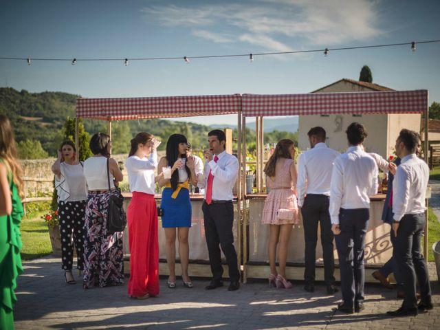 La boda de Mario y Eva en Santa Gadea Del Cid, Burgos 56