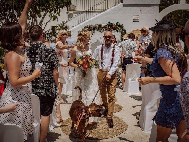 La boda de Daisy y Wayne