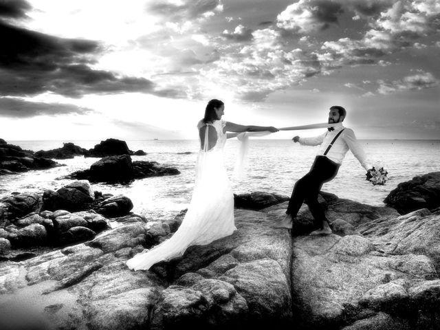 La boda de Laura y Alberto en Lloret De Mar, Girona 2