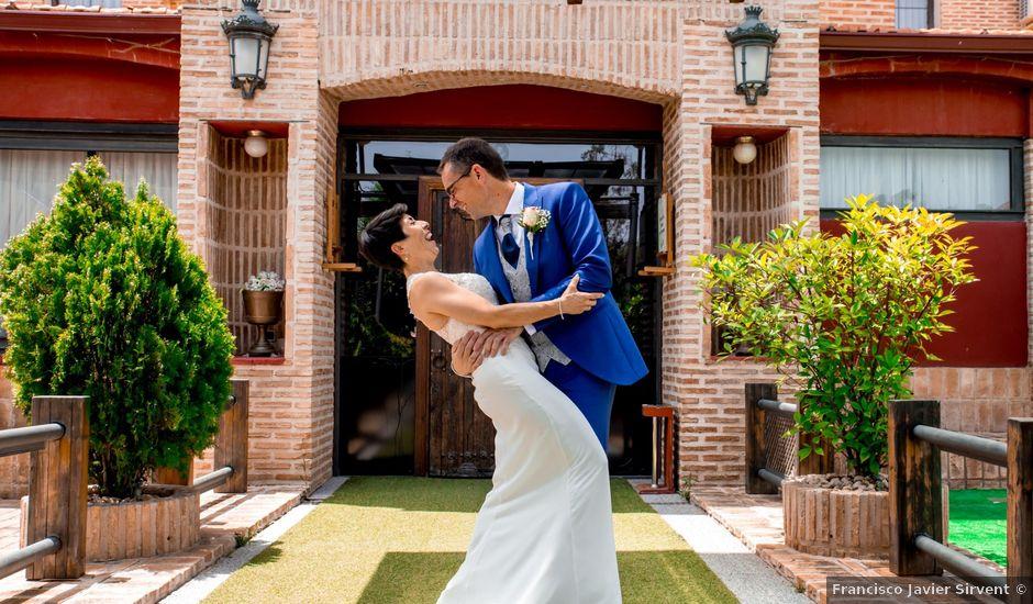La boda de Rubén y Gladis en Loeches, Madrid
