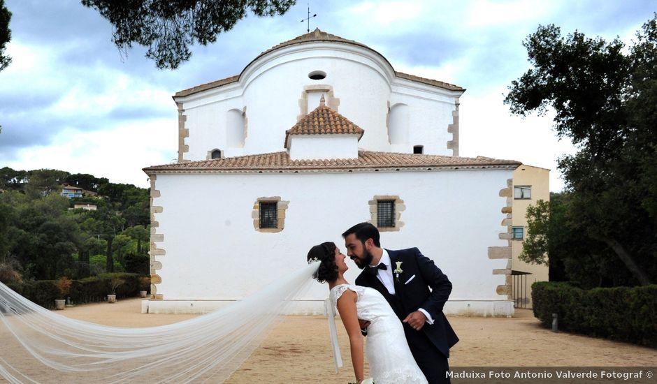 La boda de Laura y Alberto en Lloret De Mar, Girona
