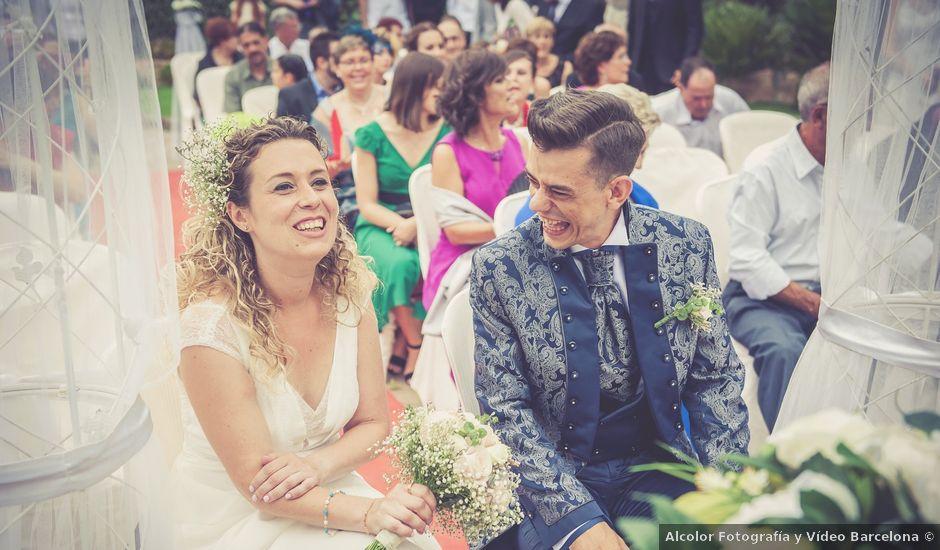 La boda de Ernesto y Debora en El Bruc, Barcelona