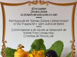 La boda de Josefine y Jordi 1
