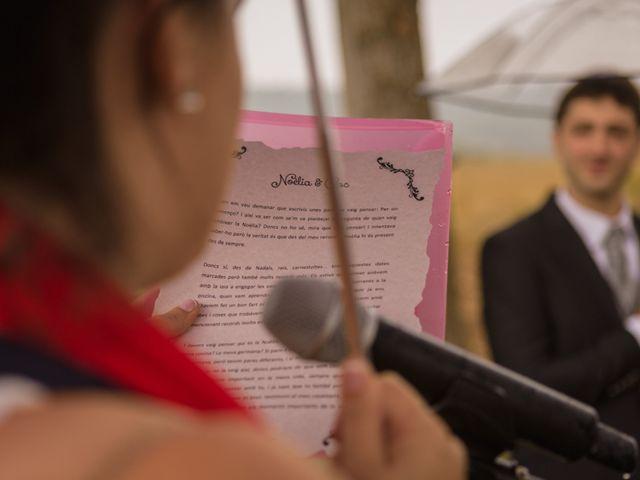 La boda de Cesc y Noèlia en Casserres, Barcelona 4