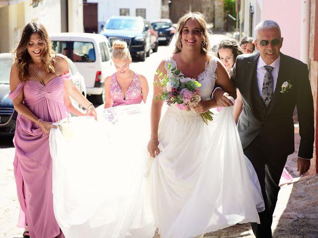 La boda de Aida y Sebastien en Valverde De La Vera, Cáceres 23