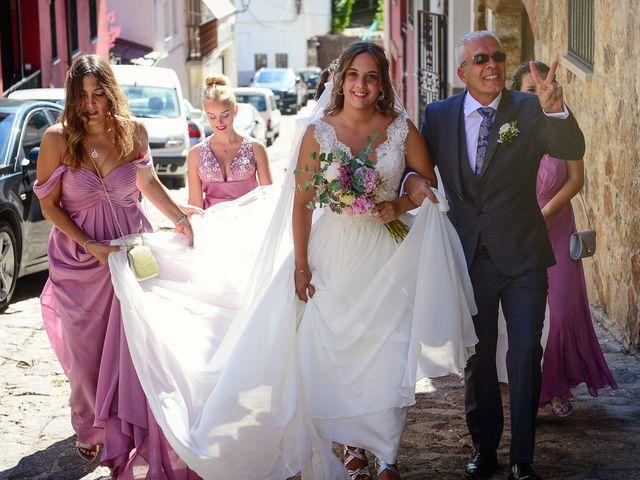 La boda de Aida y Sebastien en Valverde De La Vera, Cáceres 24