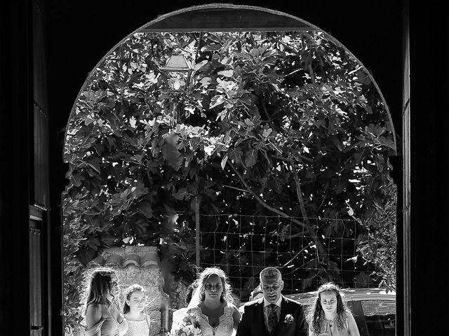 La boda de Aida y Sebastien en Valverde De La Vera, Cáceres 25
