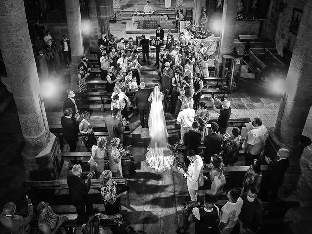 La boda de Aida y Sebastien en Valverde De La Vera, Cáceres 26
