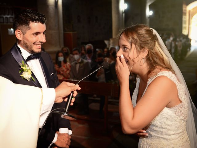 La boda de Aida y Sebastien en Valverde De La Vera, Cáceres 31