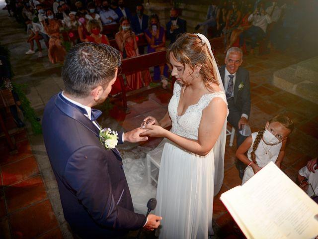 La boda de Aida y Sebastien en Valverde De La Vera, Cáceres 32