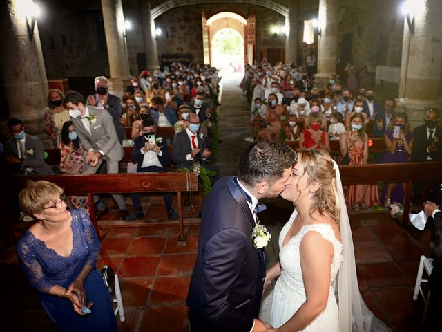 La boda de Aida y Sebastien en Valverde De La Vera, Cáceres 33