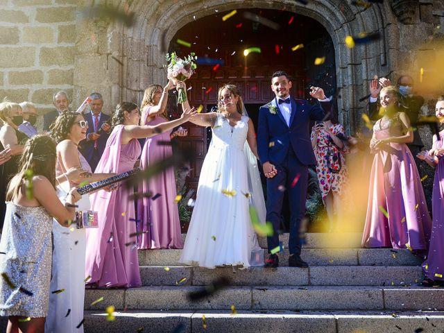 La boda de Aida y Sebastien en Valverde De La Vera, Cáceres 35