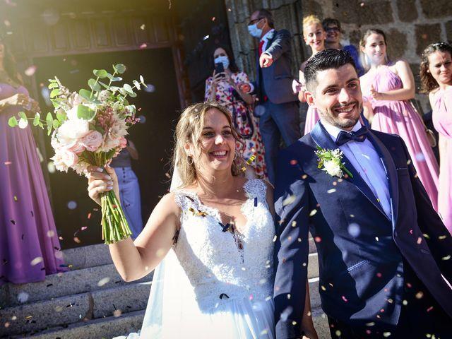 La boda de Aida y Sebastien en Valverde De La Vera, Cáceres 36