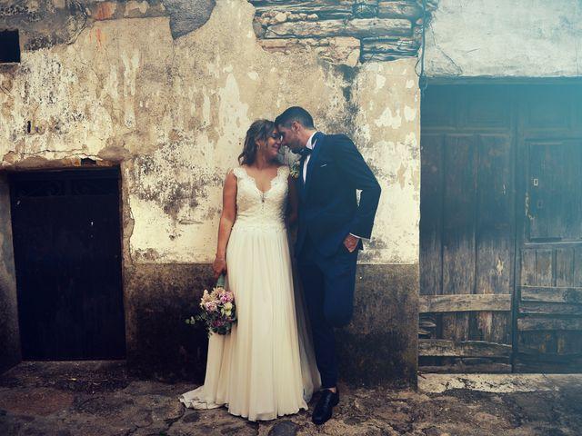 La boda de Aida y Sebastien en Valverde De La Vera, Cáceres 37