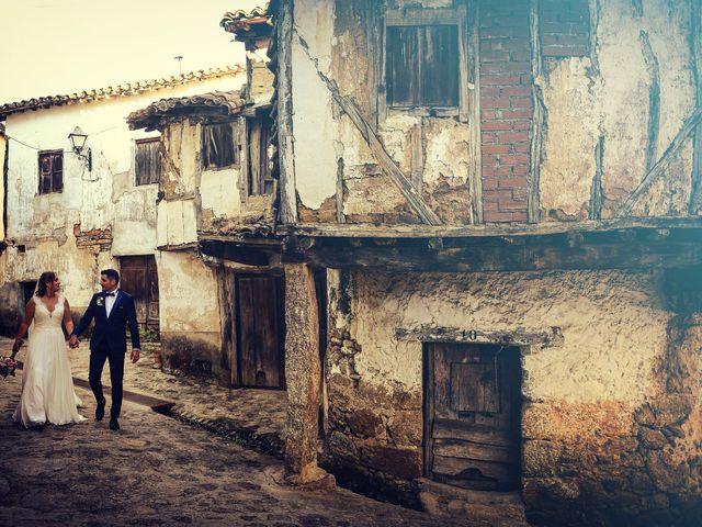 La boda de Aida y Sebastien en Valverde De La Vera, Cáceres 38