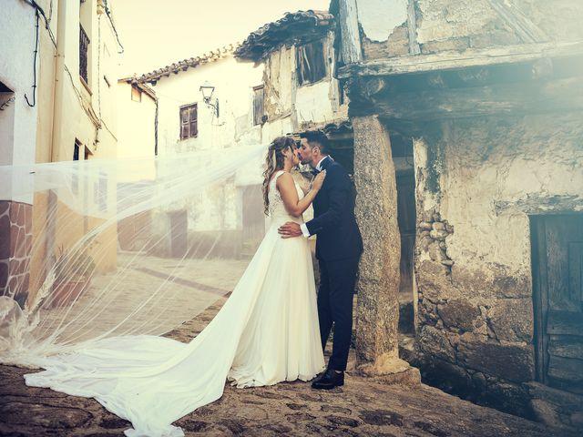 La boda de Aida y Sebastien en Valverde De La Vera, Cáceres 40