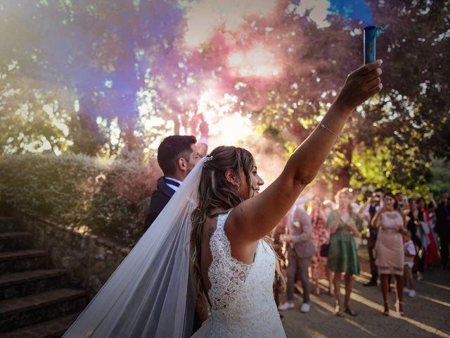 La boda de Aida y Sebastien en Valverde De La Vera, Cáceres 47