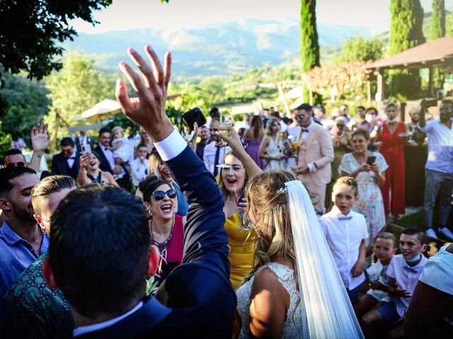 La boda de Aida y Sebastien en Valverde De La Vera, Cáceres 48