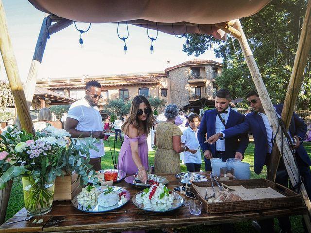 La boda de Aida y Sebastien en Valverde De La Vera, Cáceres 53