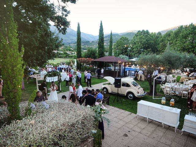 La boda de Aida y Sebastien en Valverde De La Vera, Cáceres 60