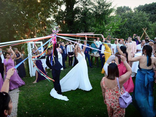 La boda de Aida y Sebastien en Valverde De La Vera, Cáceres 61