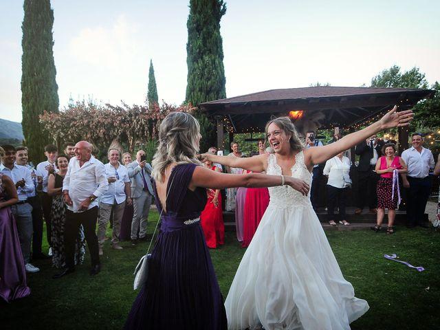 La boda de Aida y Sebastien en Valverde De La Vera, Cáceres 65