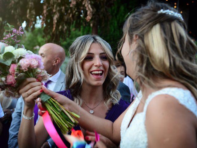 La boda de Aida y Sebastien en Valverde De La Vera, Cáceres 66