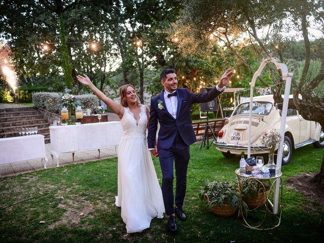 La boda de Aida y Sebastien en Valverde De La Vera, Cáceres 68