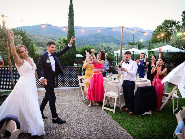 La boda de Aida y Sebastien en Valverde De La Vera, Cáceres 70