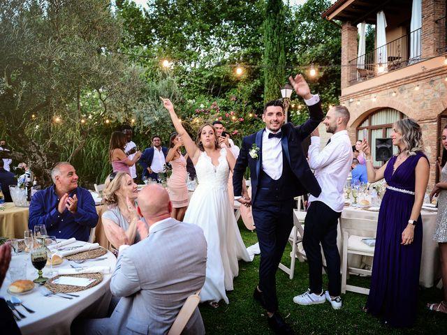 La boda de Aida y Sebastien en Valverde De La Vera, Cáceres 72