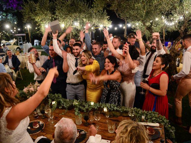 La boda de Aida y Sebastien en Valverde De La Vera, Cáceres 79