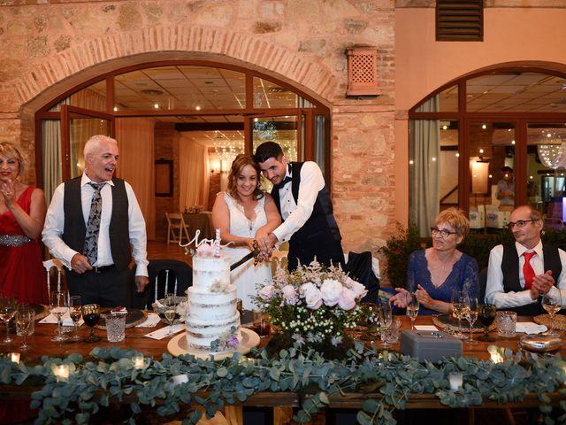 La boda de Aida y Sebastien en Valverde De La Vera, Cáceres 80