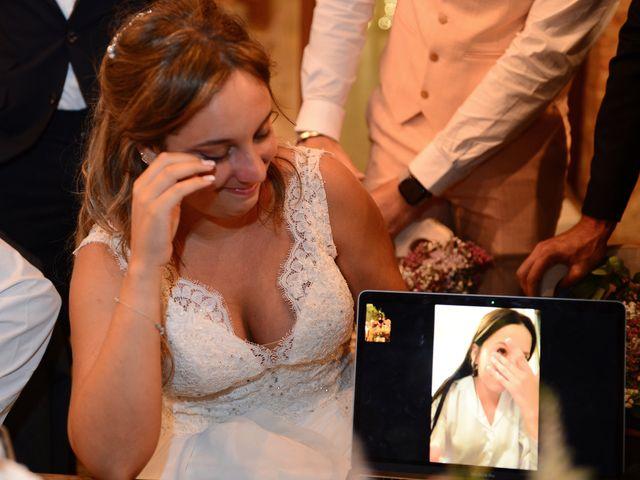 La boda de Aida y Sebastien en Valverde De La Vera, Cáceres 83