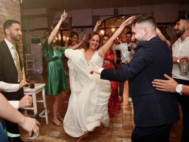 La boda de Aida y Sebastien en Valverde De La Vera, Cáceres 88