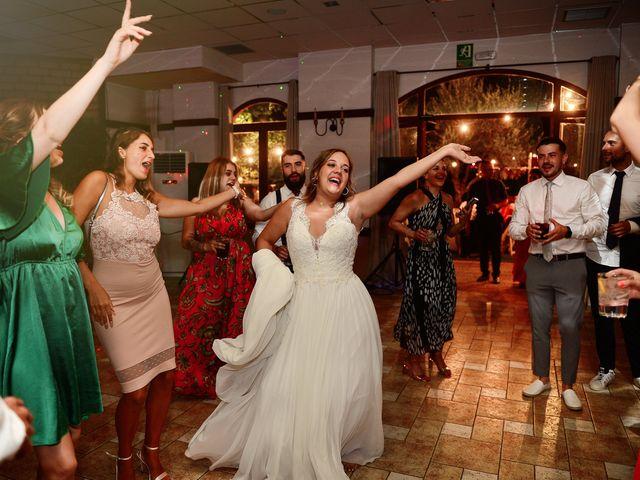 La boda de Aida y Sebastien en Valverde De La Vera, Cáceres 89