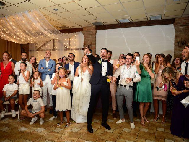 La boda de Aida y Sebastien en Valverde De La Vera, Cáceres 91