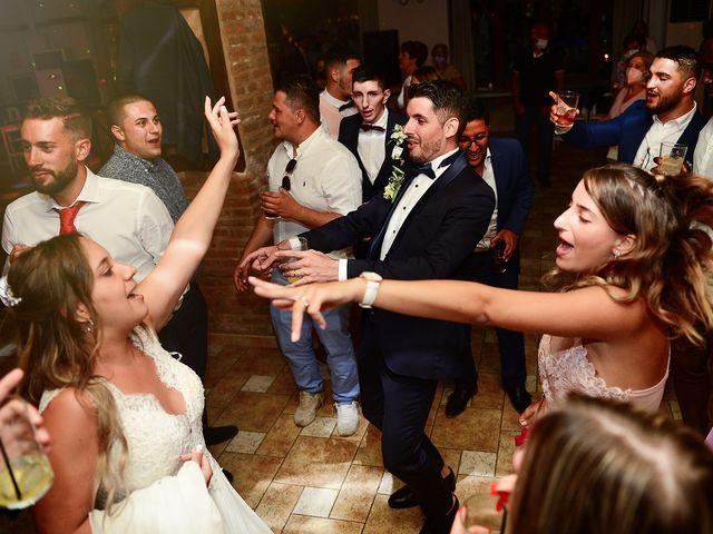 La boda de Aida y Sebastien en Valverde De La Vera, Cáceres 94