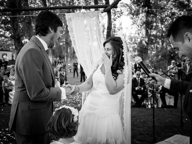 La boda de David y Aurora en Saelices, Cuenca 34
