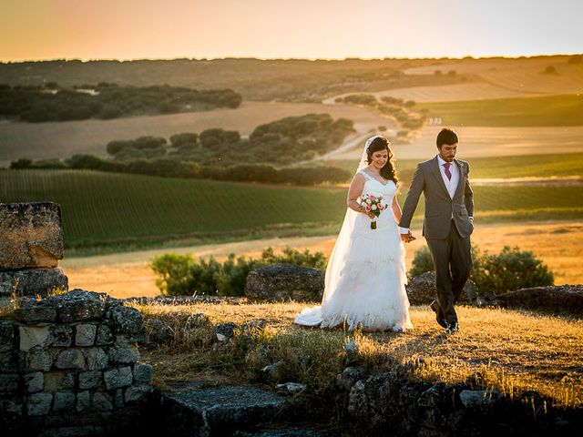 La boda de David y Aurora en Saelices, Cuenca 37
